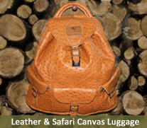 Safari Canvas Luggage