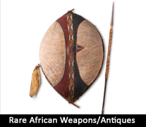 Rare African Weapons/Antiques