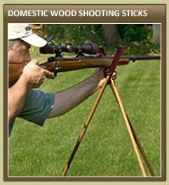 Domestic Wood Shooting Sticks
