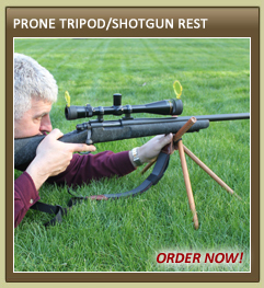 Prone Tripod / Shotgun Rest