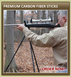 Carbon Fiber Shooting Sticks