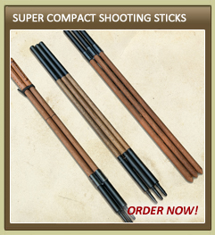 Super Compact Shooting Sticks