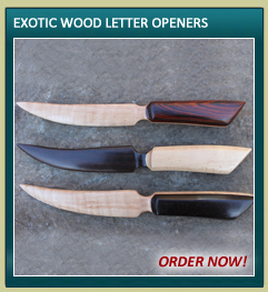 Wood Letter Openers