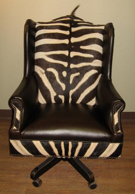 Brown Zebra ChairsZebra Skin Office Chair Code Zech100002  : zebraoffice from algarveglobal.com size 450 x 647 jpeg 228kB