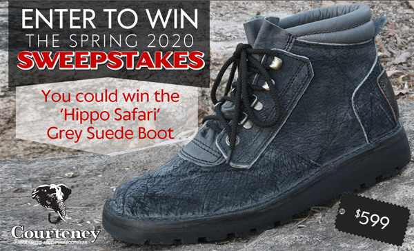 African Sporting Creations. Enter to Win BIG FIVE $2,000 SWEEPSTAKES